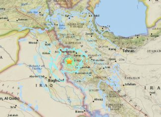iran strong earthquake august 25 2018, iran strong earthquake august 2018, M6.0 iran strong earthquake august 2018