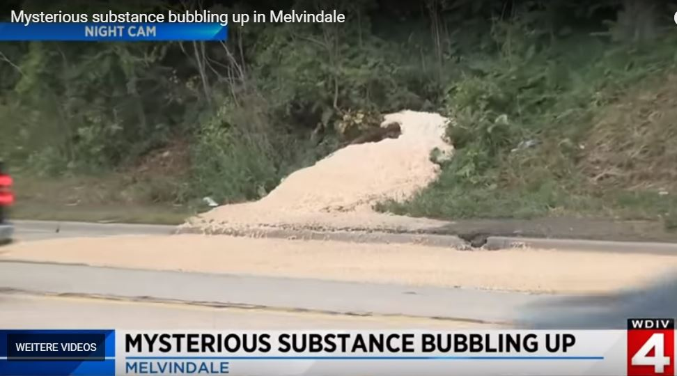 mysterious substance bubbling up melvindale, mysterious substance bubbling up melvindale detroit, mysterious substance bubbling up melvindale michigan, mysterious substance bubbling up melvindale august 2018, mysterious substance bubbling up melvindale video, mysterious substance bubbling up melvindale picture