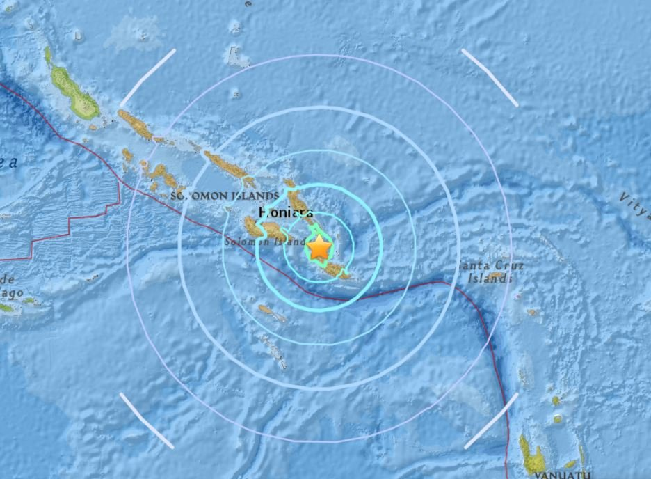 earthquake solomon islands september 9 2018, M6.5 earthquake solomon islands september 9 2018, earthquake news solomon islands
