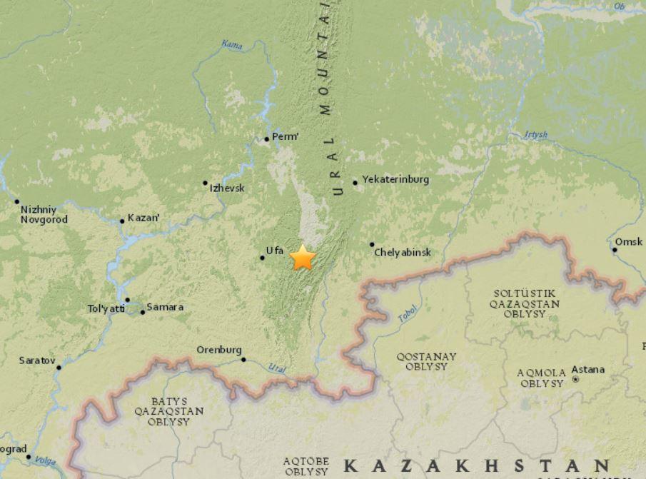 earthquake chelyabinsk ural september 4 2018, earthquake chelyabinsk ural september 4 2018 map, rare earthquake chelyabinsk ural september 4 2018