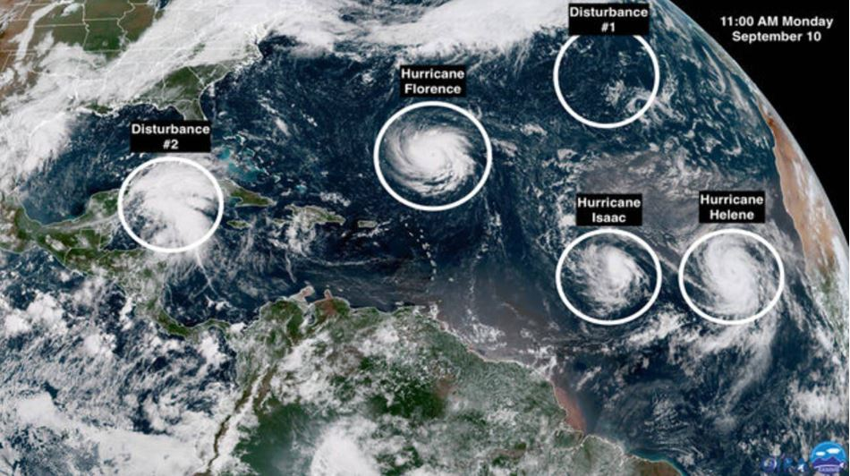 Here Comes Florence Hurricane-atlantic-september-2018
