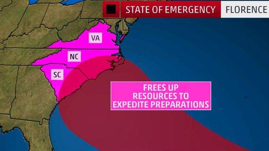 hurricane florence, hurricane florence september 2018, hurricane florence video, hurricane florence picture, hurricane florence hit southeast US