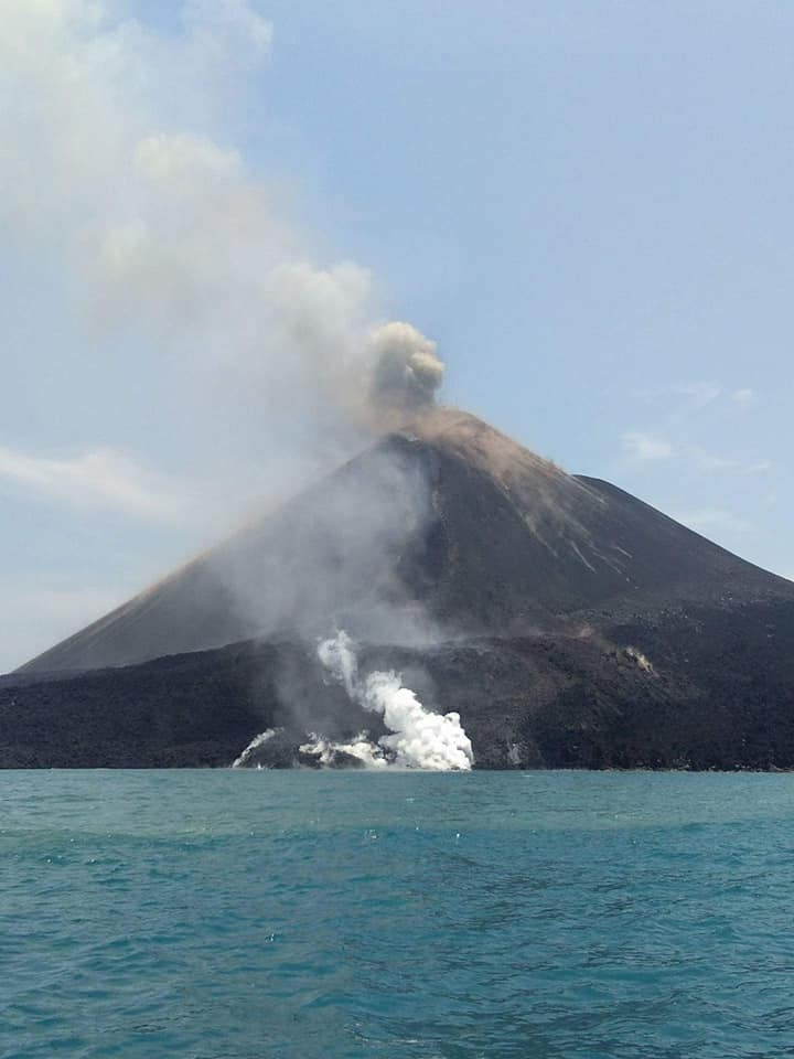 Krakatau eruption on September 16 2018, Krakatau eruption on September 16 2018 pictures, Krakatau eruption on September 16 2018 videos