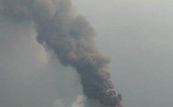 Krakatau eruption on September 16 2018, Krakatau eruption on September 16 2018 pictures, Krakatau eruption on September 16 2018 videos