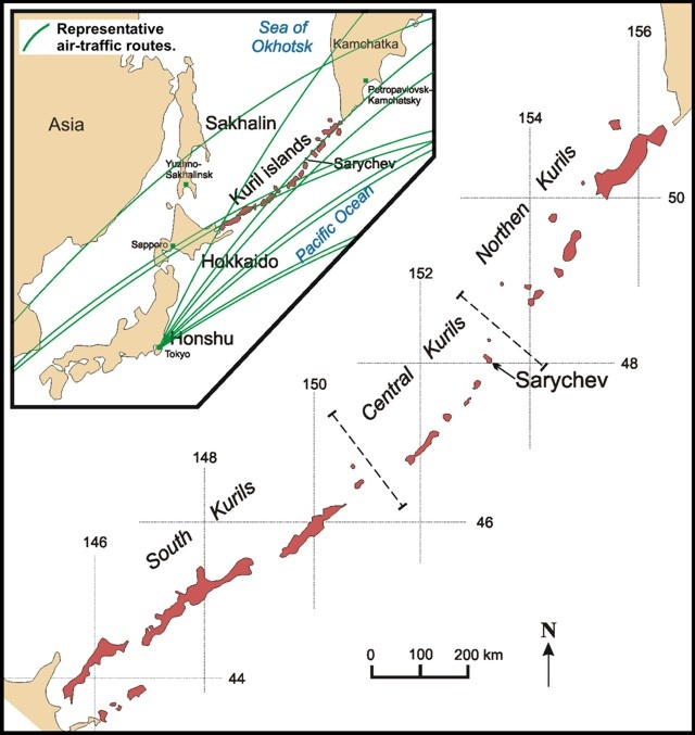 Volcanic eruptions worldwide Sarychev-volcano-eruption-september-2018