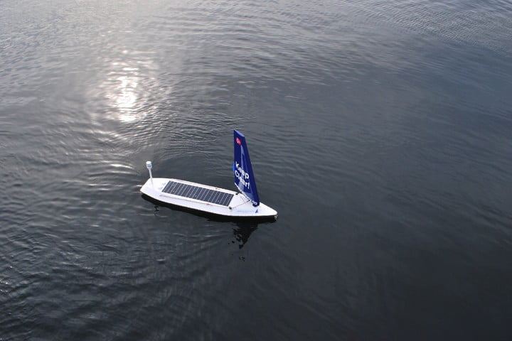 unmanned autonomous boat crosses atlantic ocean, roboat, unmanned autonomous boat crosses atlantic ocean for the first time