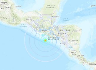 M6.1 earthquake el salvador october 28 2018, M6.1 earthquake el salvador october 28 2018 map