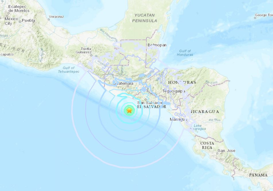 The Big Shaking Continues: M6.1 Hits El Salvador; M6.3 Strikes the Drake Passage M6.1-earthquake-el-salvador-october-28-2018