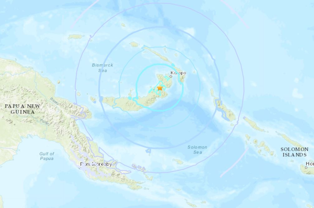 M6.2 earthquake papua new guinea october 10 2018, M6.2 earthquake papua new guinea october 10 2018 map