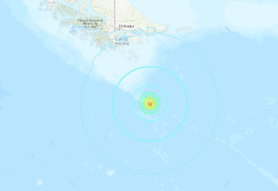 The Big Shaking Continues: M6.1 Hits El Salvador; M6.3 Strikes the Drake Passage M6.3-earthquake-drake-passage-october-29-2018