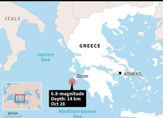M6.8 earthquake greece, M6.8 earthquake greece october 25 2018, destruction M6.8 earthquake greece, M6.8 earthquake greece pictures, M6.8 earthquake greece video, M6.8 earthquake greece map