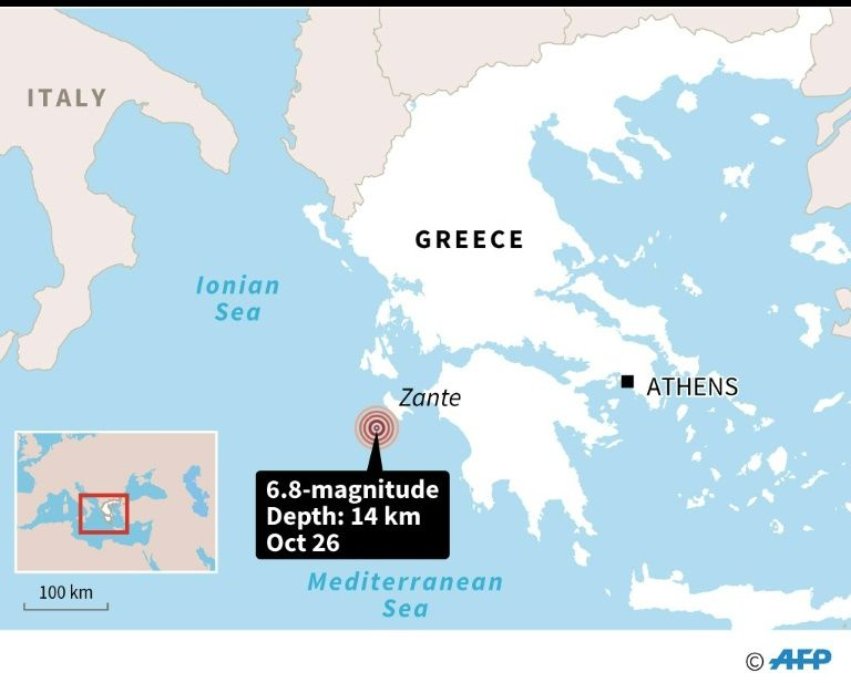 M6.8 earthquake greece, M6.8 earthquake greece october 25 2018, destruction M6.8 earthquake greece, M6.8 earthquake greece pictures, M6.8 earthquake greece video, M6.8 earthquake greece map