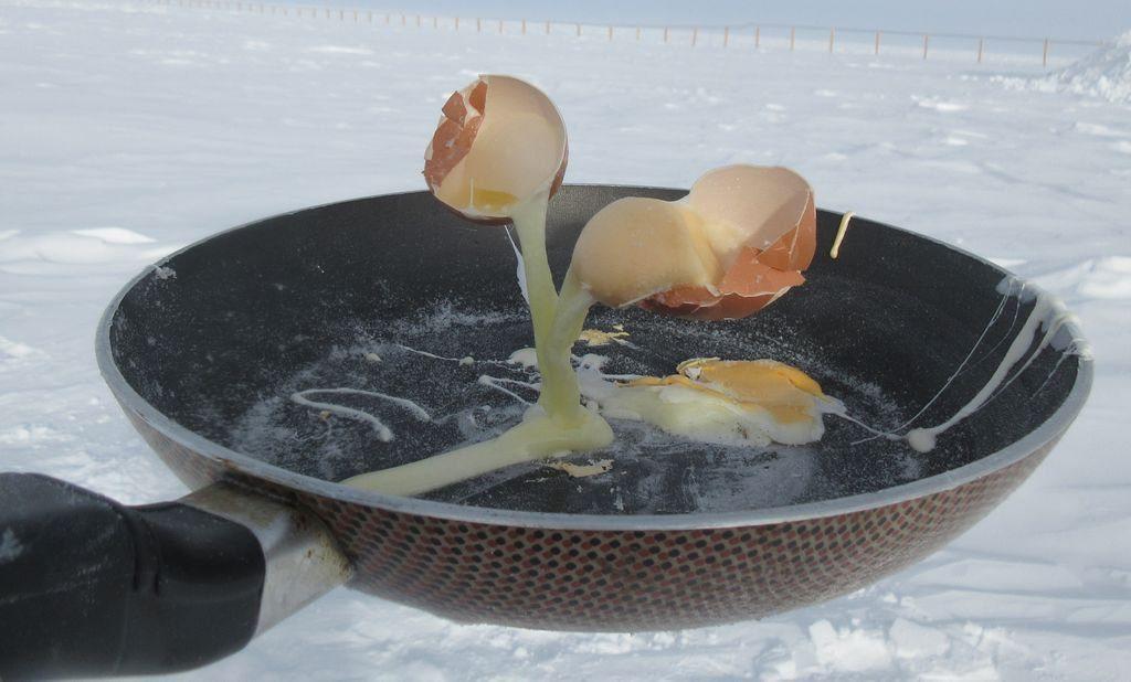 Antarctica frozen eggs, antarctica frozen meals