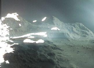 comet, comet landscape, comet picture, what a comet looks like