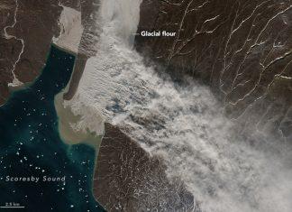 Rare Glacier flour engulfs Greenland skies, dust storm greenland, dust storm greenland nasa, dust storm greenland pictures
