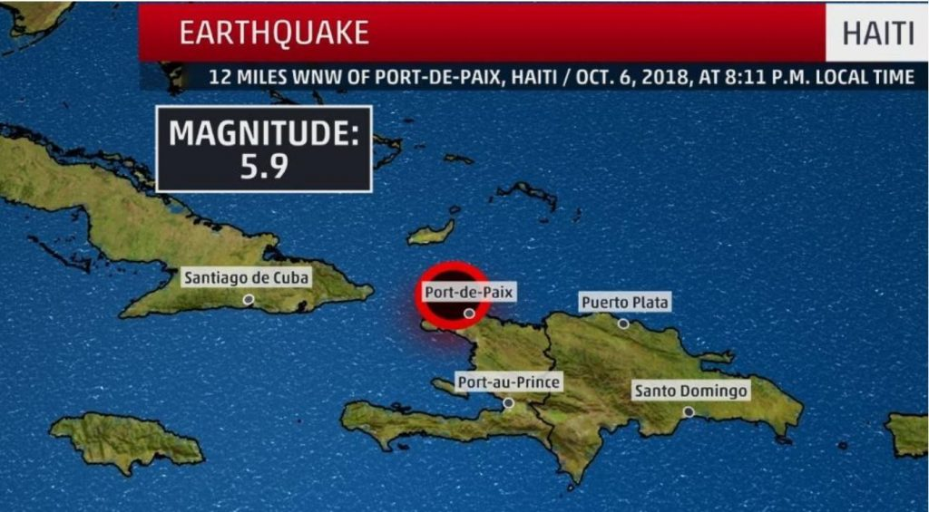 earthquake haiti, M5.9 earthquake haiti, earthquake haiti damage dead