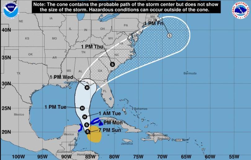 hurricane michael florida, state of emergency florida michael