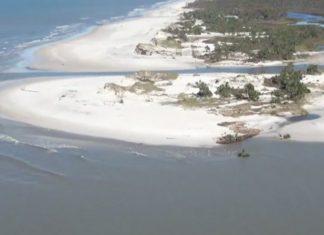 michael creates new islands florida, michael creates new islands florida video, florida aftermath video, florida michael hurricane video