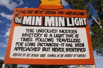 Min Min lights, mysterious Min Min lights, mysterious Min Min lights pictures, mysterious Min Min lights video
