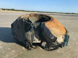 mysterious object seabrook island, mysterious object seabrook island pictures, mysterious object seabrook island video, What is this strange object that washed ashore on Seabrook Island?,