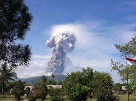 Picture of Soputan volcanic eruption on October 3 2018 in Sulawesi, Picture of Soputan volcanic eruption on October 3 2018 in Sulawesi picture, Picture of Soputan volcanic eruption on October 3 2018 in Sulawesi video