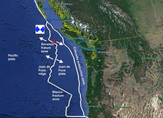 strong earthquakes vancouver island bc canada, series of strong quakes vancouver island