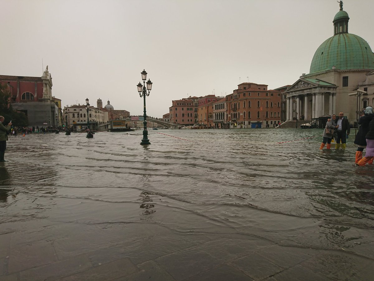 Nearly Three Quarters Of Venice Italy Flooded After