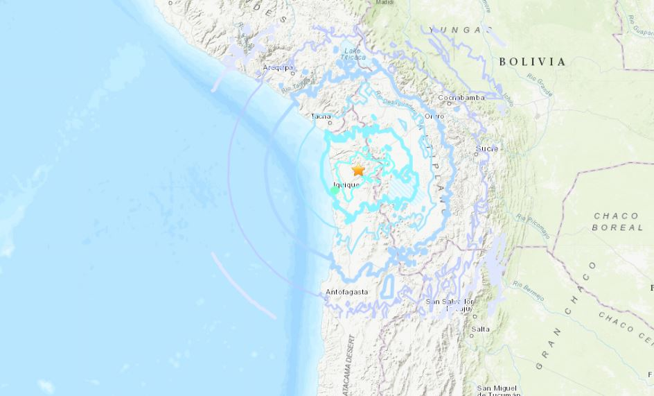 M6.2 earthquake hit northern Chile on November 1 2018, M6.2 earthquake hit northern Chile on November 1 2018 map, M6.2 earthquake hit northern Chile on November 1 2018 video, M6.2 earthquake hit northern Chile on November 1 2018 pictures, M6.2 earthquake hit northern Chile on November 1 2018 map