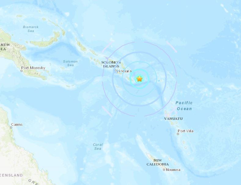 M6.2 earthquake hit near Solomon islands on November 16 2018, map M6.2 earthquake hit near Solomon islands on November 16 2018, M6.2 earthquake hit near Solomon islands on November 16 2018 map