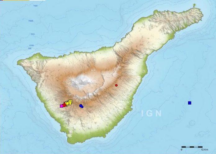 earthquake swarm tenerife, earthquake swarm tenerife canary islands