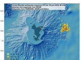 mayotte earthquake swarm new island hot spot forming, new island forms off mayotte, seismic swarm off mayotte due to hostpot and new island forming, new island forms off mayotte