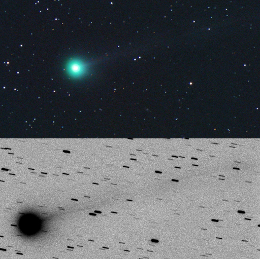 3 amateur astronomers discover bright new comet that has quadrupled in brightness over the past few days New-comet-discovered-by-amateur-astronomers-2