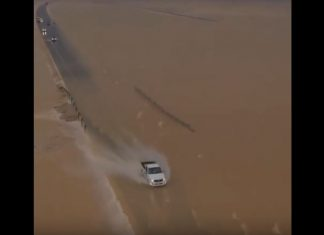 oman desert turns into sea video, oman desert turns into sea video november 2018, oman desert turns into sea video october 2018