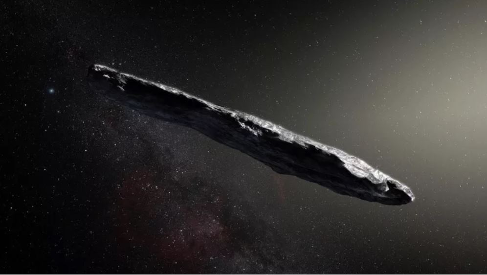 Oumuamua A Lightsail Intersteller Object Is Artificial  Oumuamua-alien-spaceship-asteroid