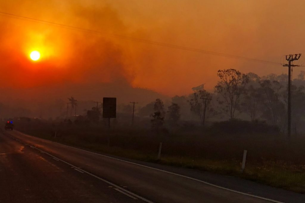 """Australia Wildfires - Calling it an """"Unprecedented Event"""" as it stretches OVER 500 miles! Queensland-australia-fire-1-1024x682"""