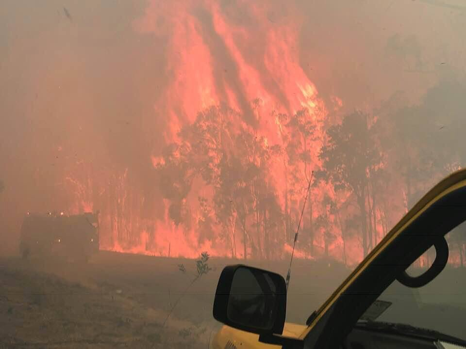 "Australia Wildfires - Calling it an ""Unprecedented Event"" as it stretches OVER 500 miles! Queensland-australia-fire-2"