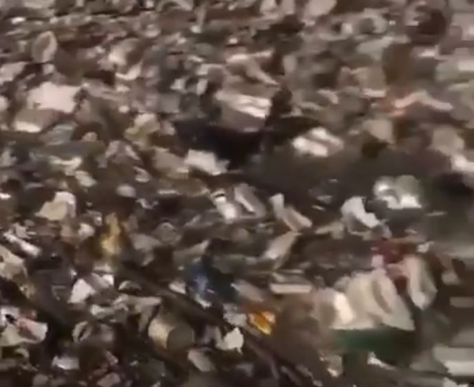 Extreme floods in Haiti create a torrent of garbage flowing toward the ocean River-of-trash-haiti-2
