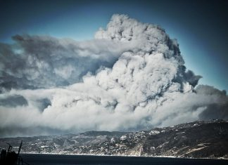 smoke california volcanic eruption, california fires, socal fires november 2018