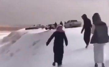 snow hail saudi arabia, snow hail saudi arabia video, snow hail saudi arabia pictures, snow hail saudi arabia november 2018