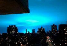 alien invasion queens blue sky transformer explosion, alien invasion queens blue sky transformer explosion video, alien invasion queens blue sky transformer explosion pictures