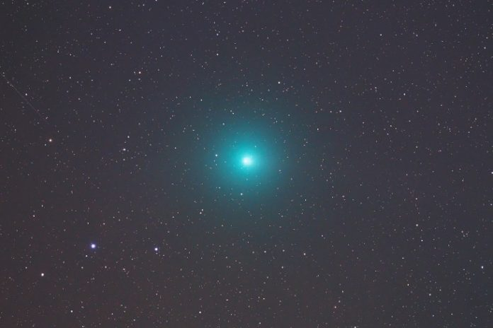 christmas comet wirtanen, brightest comet of 2018, bright christmas comet wirtanen