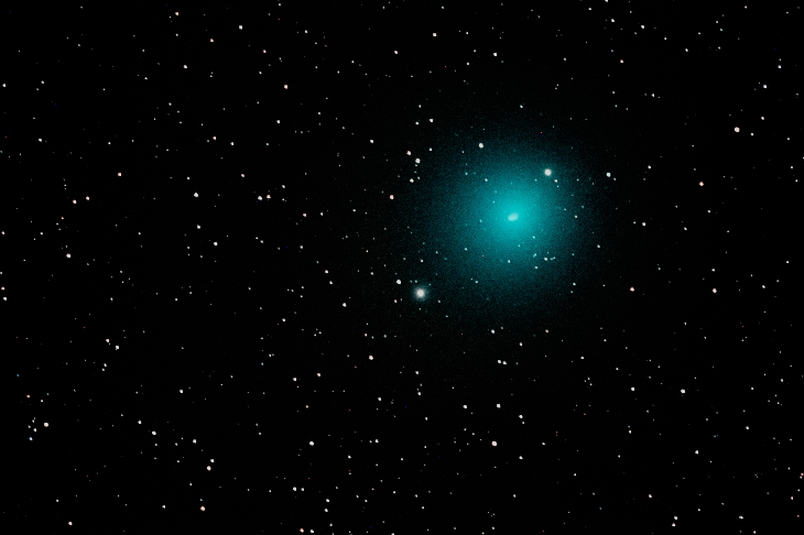 christmas comet wirtanen, brightest comet of 2018, bright christmas comet wirtanen