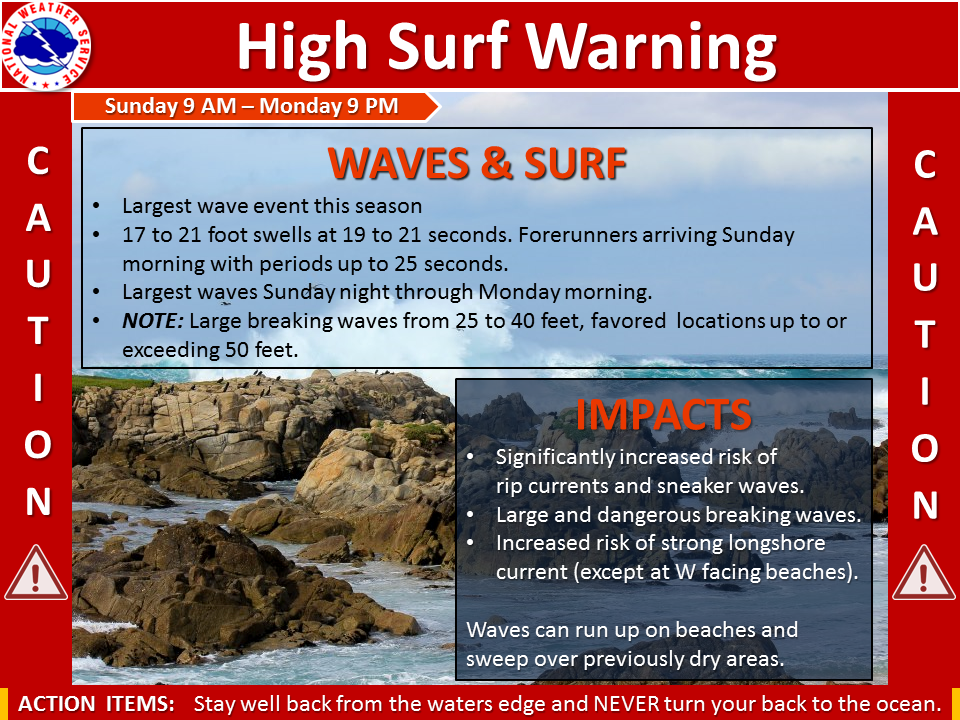 high surf warning san francisco storm, huge waves san francisco, huge wave san francisco bay, deadly waves california december 16 2018