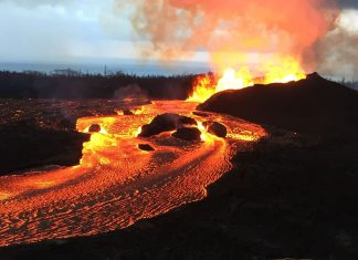 The 2018 rift eruption and summit collapse of Kīlauea Volcano was the largest in 200 years, kilauea eruption largest 200 years