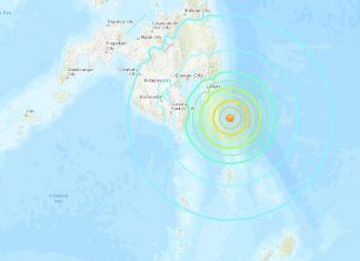 philippines earthquake, strong earthquake philippines, strong earthquake philippines dec 29 2018, strong earthquake philippines map