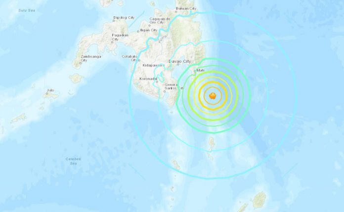 philippines earthquake, strong earthquake philippines, strong earthquake philippines dec 29 2018, strong earthquake philippines map