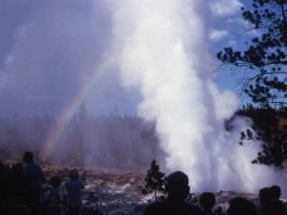 steamboat geyser eruption record 2018, steamboat geyser eruption record 2018 video, steamboat geyser eruption record 2018 pictures, Record Breaking #30 Steamboat Geyser Eruption Yellowstone SuperVolcano