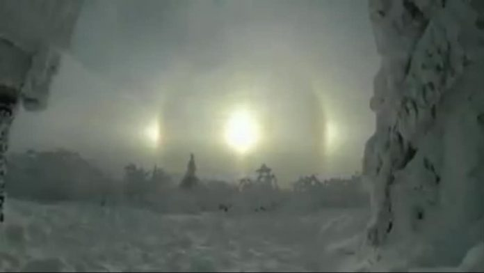 sundog germany video, sundog germany pictures, sundog germany video phenomenon