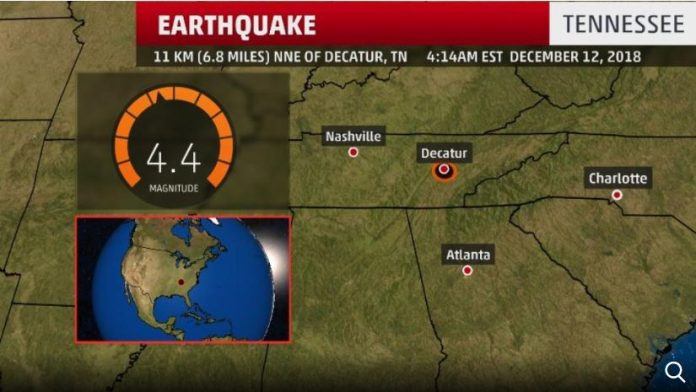 tennessee earthquake, tennessee earthquake december 12 2018, tennessee earthquake map, tennessee earthquake picture, tennessee earthquake video