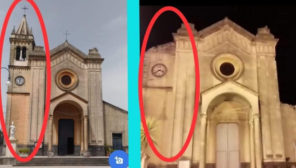 venezuela earthquake dec 27 2018, venezuela earthquake dec 27 2018 video, venezuela earthquake dec 27 2018 picture, Church damaged after M5.5 earthquake in Venezuela on December 27 2018